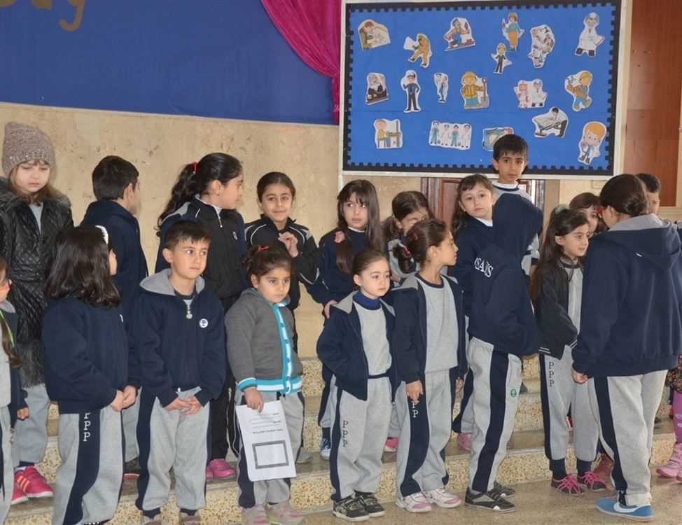 Grade 1 Career Day at Sardam International School