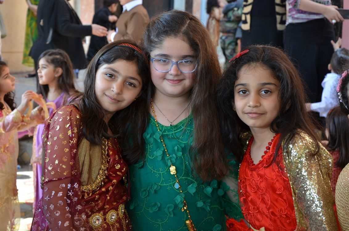 Students Celebrate Kurdish Traditional Clothes Day at Sardam