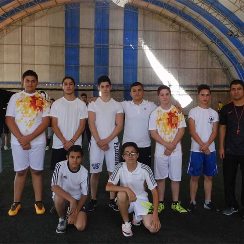 Sardam Students Engage in Football Competition