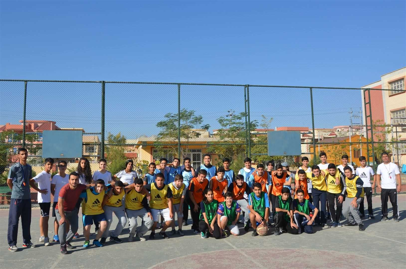 Sardam Students Participate in Basketball Competition
