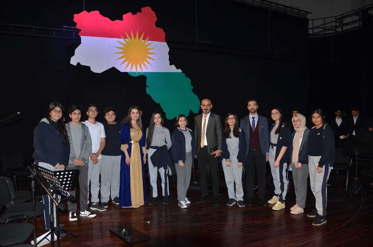 SARDAM STUDENTS ATTEND CONCERT AT THE UNIVERSITY OF DUHOK