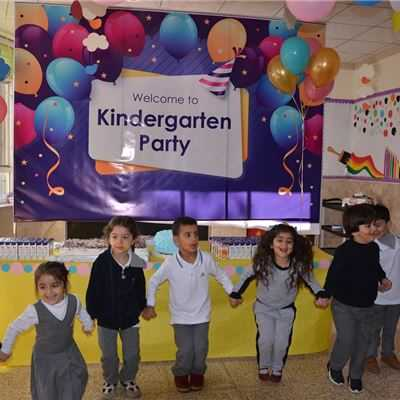 SARDAM IS KG.1 STUDENTS ENJOY THEIR WELCOME PARTY