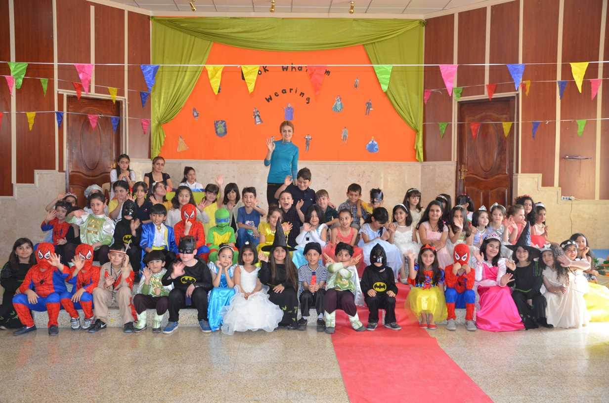 Grade 2 Students Enjoy Costume Party at Sardam International School