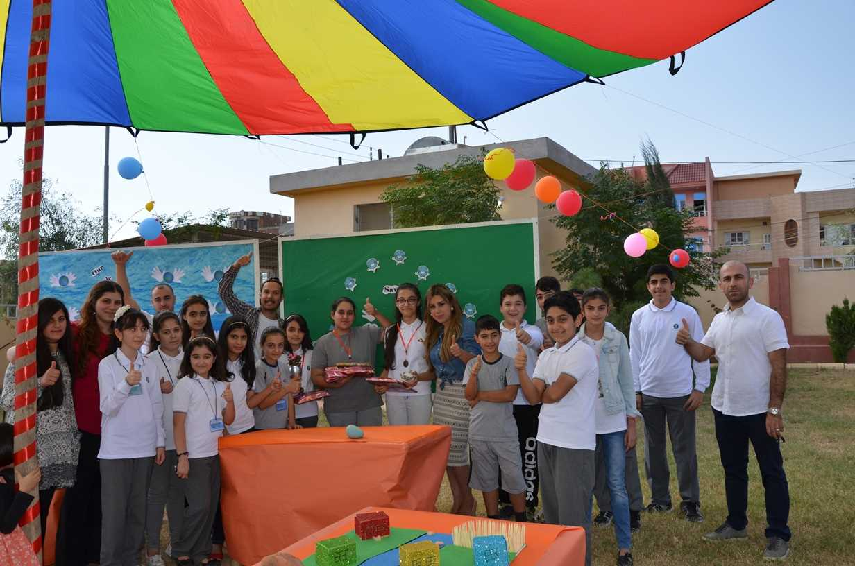 Sardam Students Participate in Reuse, Reduce, Recycle Exhibition