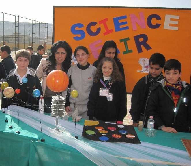 Students Participate in Science Fair