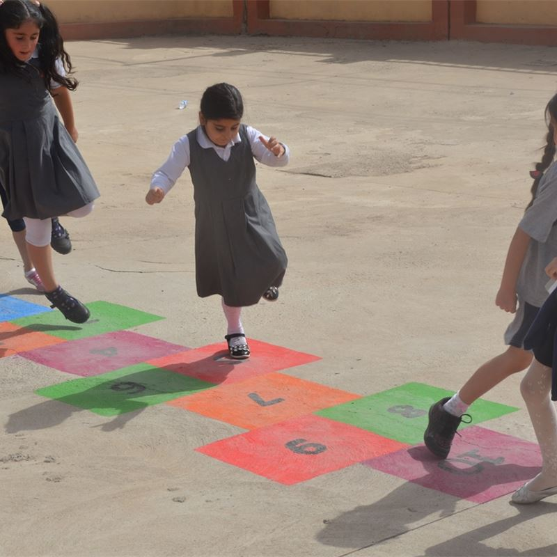 Sardam Students Enjoy Active Lunch Breaks