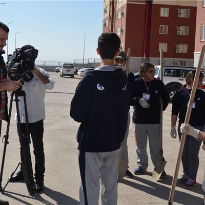 Sardam Students Participate in Green & Clean Campaign