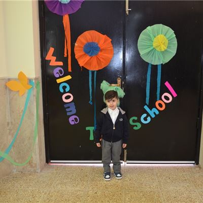 Sardam Welcomes KG Students to their First Day of School