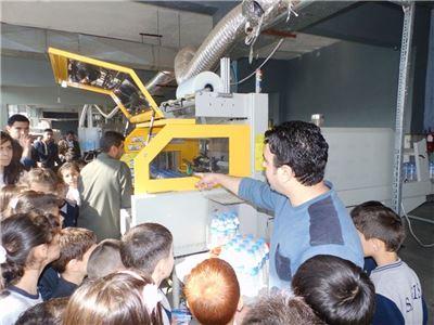 Sardam 3rd Graders Visit Metin Water Factory
