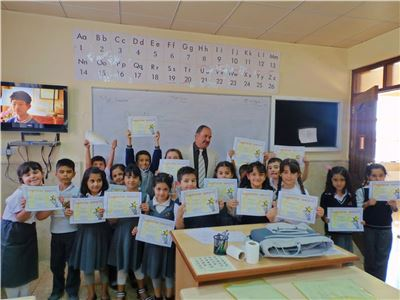 Sardam Students Receive Performance Certificates