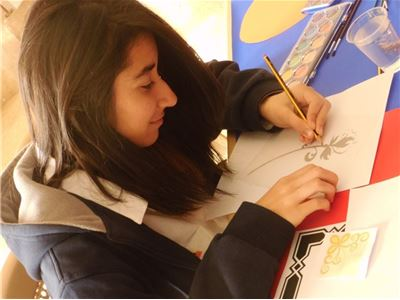 Sardam Students Learn How to Trace