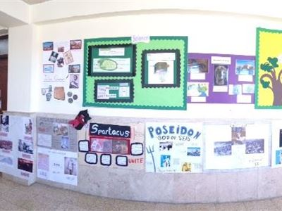 Grades 5-8 Students Create Social Studies Projects
