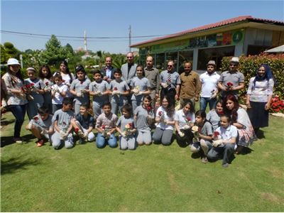 Sardam Students Take Part in Planting and Cleaning Campaign