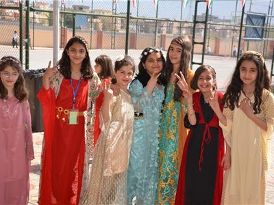 Students Celebrate Kurdish Traditional Clothes Day