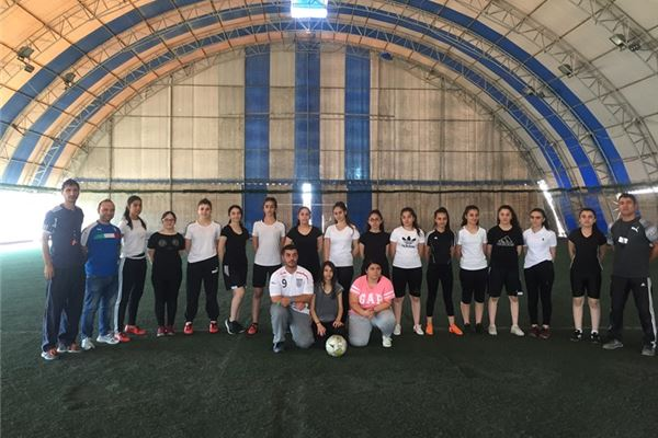 Sardam International School Organized Girls' Football Competition