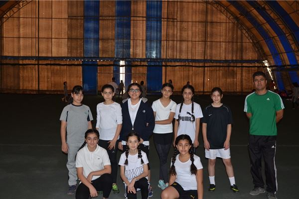 Sardam Girls Football Competition