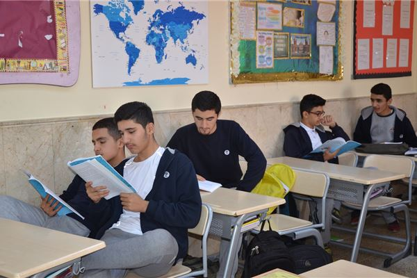 Sardam Students Attend Self-Study Sessions