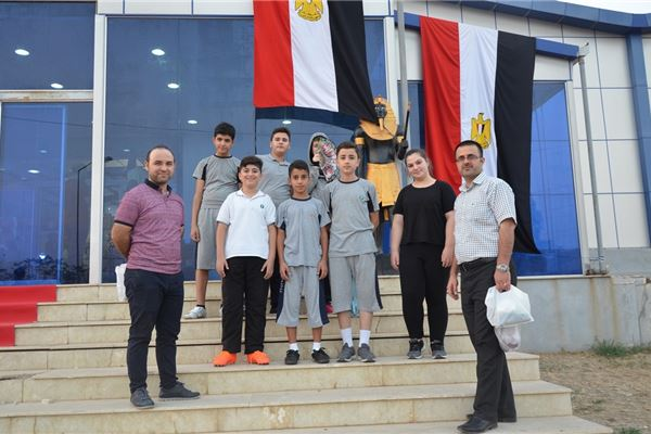 SARDAM STUDENTS ENJOY EGYPT FAIR IN DUHOK
