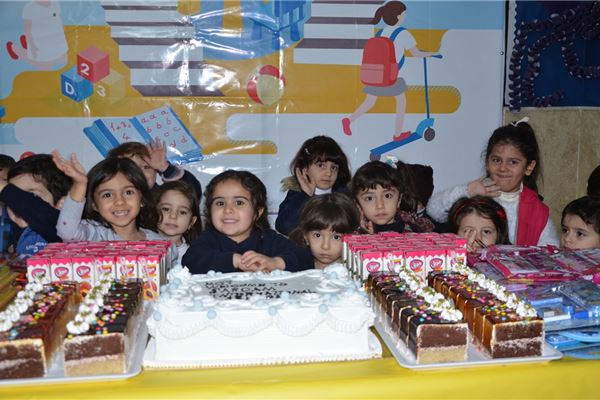 KG 1 WELCOME PARTY AT SARDAM