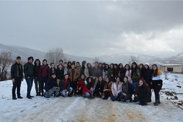 SARDAM STUDENTS VISIT GARA MOUNTAIN