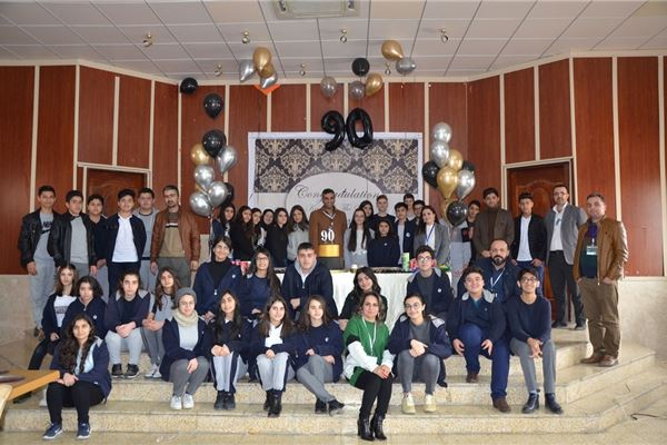 SARDAM REWARDS STUDENTS ON EXCELLENT ENGLISH AMS RESULTS