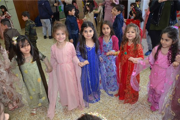 SARDAM STUDENTS CELEBRATE KURDISH COSTUME DAY