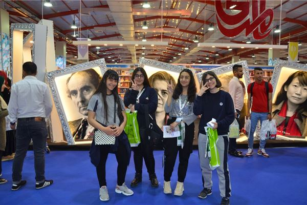 SARDAM STUDENTS VISIT THE ERBIL INTERNATIONAL BOOK FAIR