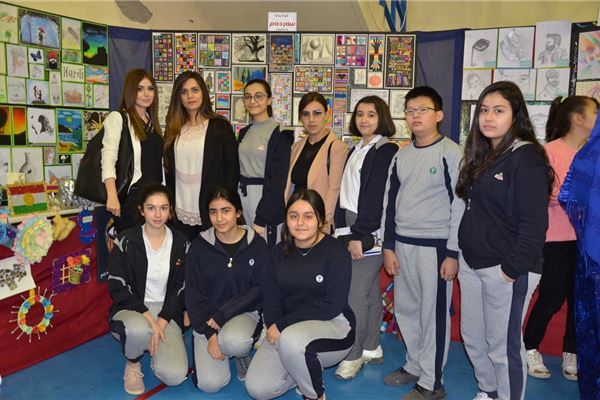 SARDAM STUDENTS WIN FIRST PLACE AT PUBLIC ART EXHIBITION