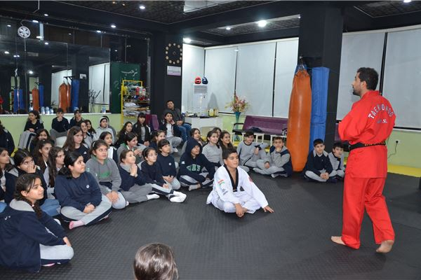 SARDAM IS GR.4 TO GR.10 STUDENTS MEET TAEKWONDO INSTRUCTORS AT THE TANAHIE'S TAEKWONDO CLASS