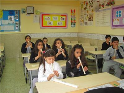 Band Practice at Sardam International School